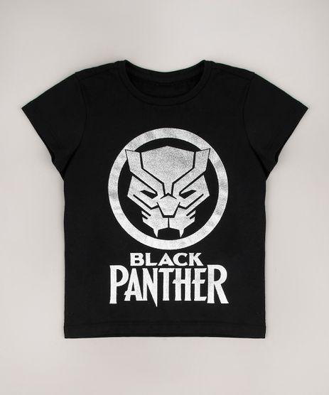 Camiseta-Infantil-Pantera-Negra-Metalizado-Manga-Curta-Preto-9715167-Preto_1
