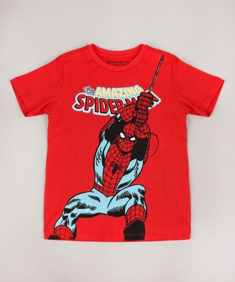 Camiseta-Infantil-Homem-Aranha-Manga-Curta-Vermelho-9625127-Vermelho_1