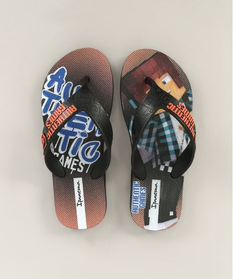 Chinelo-Infantil-Ipanema-Authentic-Games-Preto-9741048-Preto_1