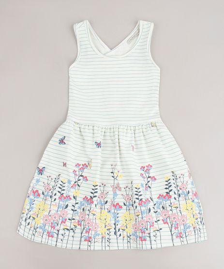 Vestido-Infantil-Listrado-com-Estampa-Floral-e-Transpasse-Alca-Media-Off-White-9705314-Off_White_1