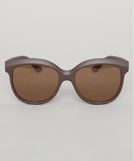 Oculos-de-Sol-Redondo-Infantil-Oneself-Marrom-9789526-Marrom_1