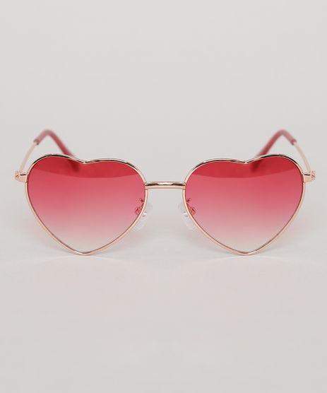 Oculos-de-Sol-Coracao-Infantil-Oneself-Rosa-9789472-Rosa_1