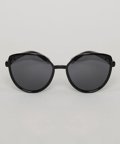 Oculos-de-Sol-Redondo-Infantil-Oneself-Preto-9789490-Preto_1