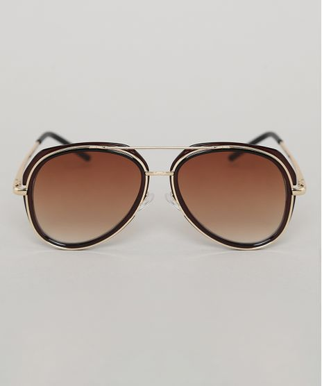 Oculos-de-Sol-Aviador-Infantil-Oneself-Marrom-9789535-Marrom_1