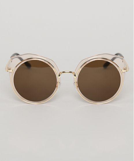 Oculos-de-Sol-Redondo-Infantil-Oneself-Dourado-9789532-Dourado_1