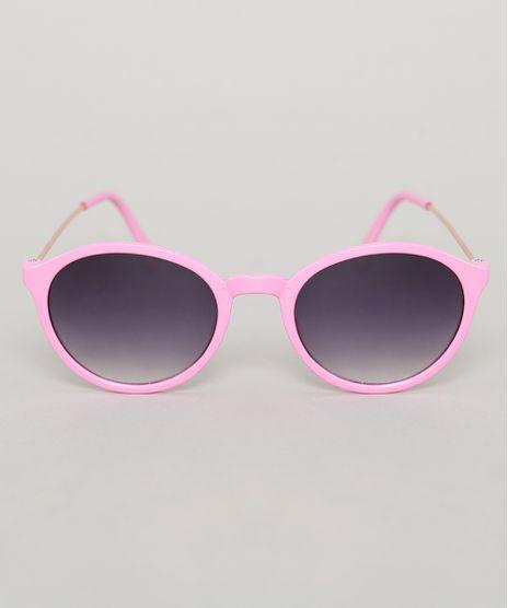 Oculos-de-Sol-Redondo-Infantil-Oneself-Rosa-9789499-Rosa_1