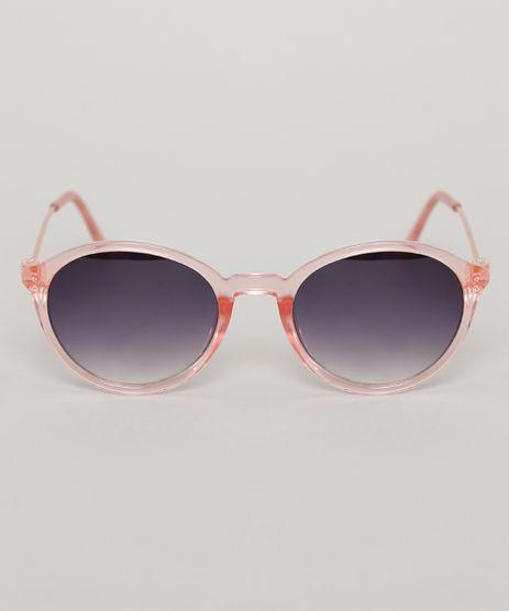 Oculos-de-Sol-Redondo-Infantil-Oneself-Rose-9789502-Rose_1