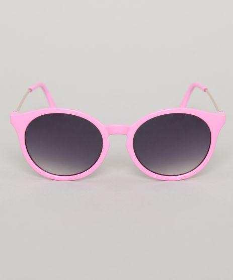 Oculos-de-Sol-Redondo-Infantil-Oneself-Rosa-9789505-Rosa_1