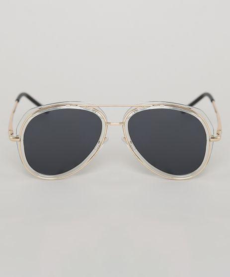 Oculos-de-Sol-Aviador-Infantil-Oneself-Dourado-9789541-Dourado_1
