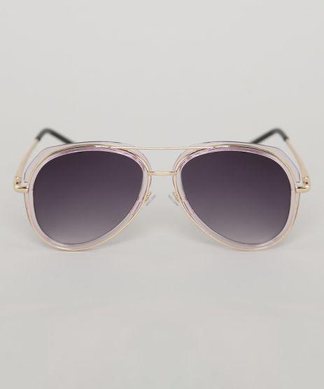 Oculos-de-Sol-Aviador-Infantil-Oneself-Rose-9789544-Rose_1