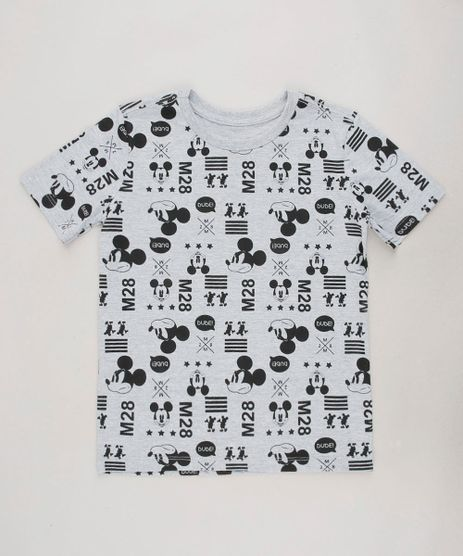 Camiseta-Infantil-Mickey-Estampado-Manga-Curta-Cinza-Mescla-9727919-Cinza_Mescla_1