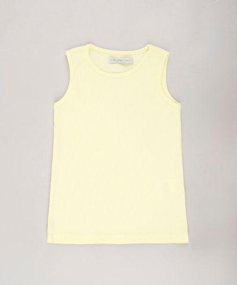 Regata-Infantil-Basica-Canelada--Amarelo-Claro-9680991-Amarelo_Claro_1