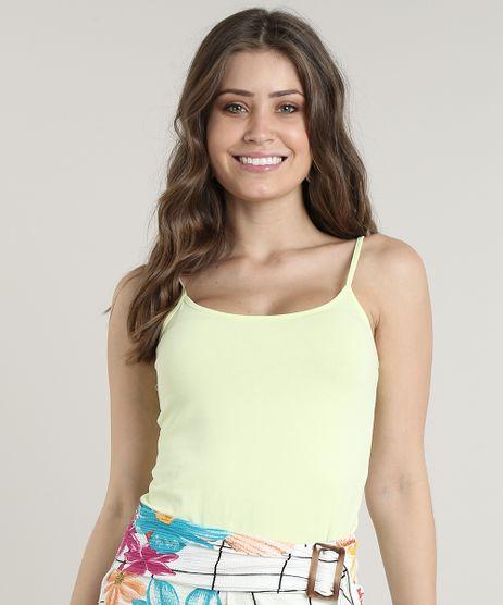Regata-Feminina-Basica-Decote-Redondo-Amarela-Claro-9647677-Amarelo_Claro_1