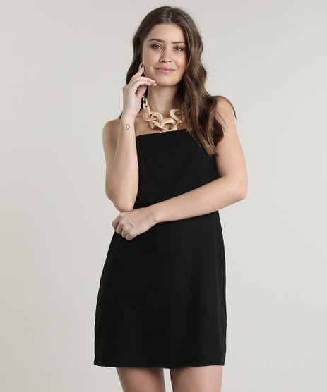 Vestido-Feminino-Curto-com-Linho-Alca-Larga-Preto-9630055-Preto_1