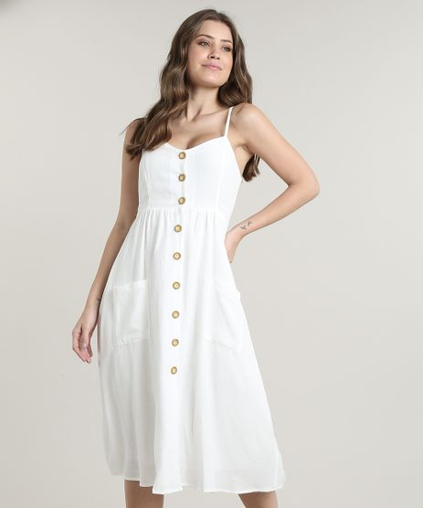 Vestido-Feminino-Midi-com-Bolsos-e-Botoes-Alca-Fina-Off-White-1-9569789-Off_White_1_1