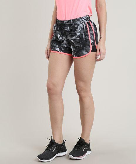 Short-Feminino-Running-Esportivo-Ace-Estampado-com-Sobreposicao-Cinza-9627715-Cinza_1
