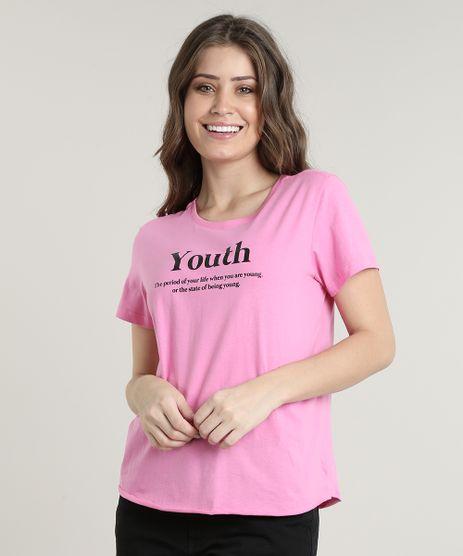 Blusa-Feminina--Youth--Manga-Curta-Decote-Redondo-Rosa-9699273-Rosa_1