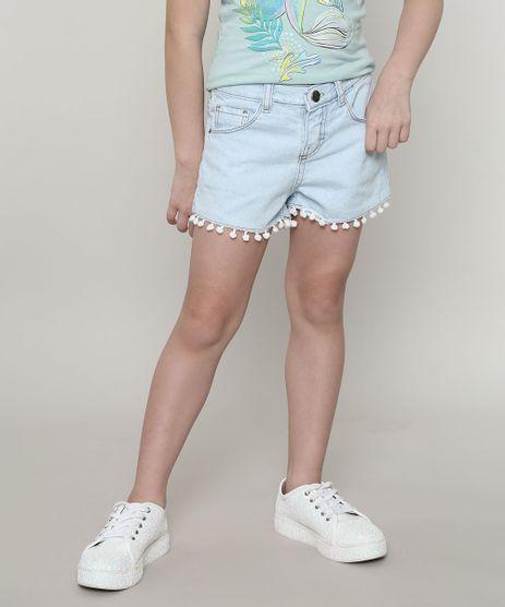Short-Jeans-Infantil-Barra-com-Pompom-Azul-Claro-9404412-Azul_Claro_1