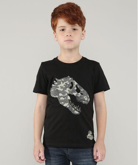 Camiseta-Infantil-Jurassic-World-Dinossauro-Manga-Curta-Preto-9729687-Preto_1