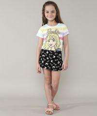 Short-Saia-Infantil-Barbie-Estampado-Preto-9675155-Preto_3