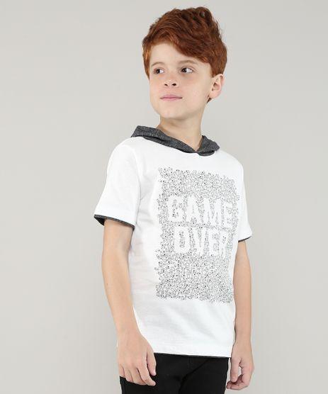 Camiseta-Infantil-Game-Over-com-Capuz-Manga-Curta-Off-White-9699296-Off_White_1