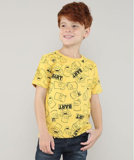 Camiseta-Infantil-Bart-Os-Simpsons-Manga-Curta-Amarelo-9727726-Amarelo_1