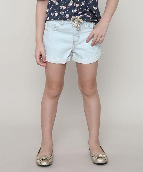 Short-Jeans-Infantil-com-Cinto--Azul-Claro-9674220-Azul_Claro_1