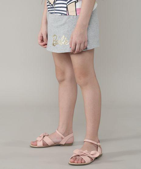 Short-Saia-Infantil-Barbie-Cinza-Mescla-9675154-Cinza_Mescla_1
