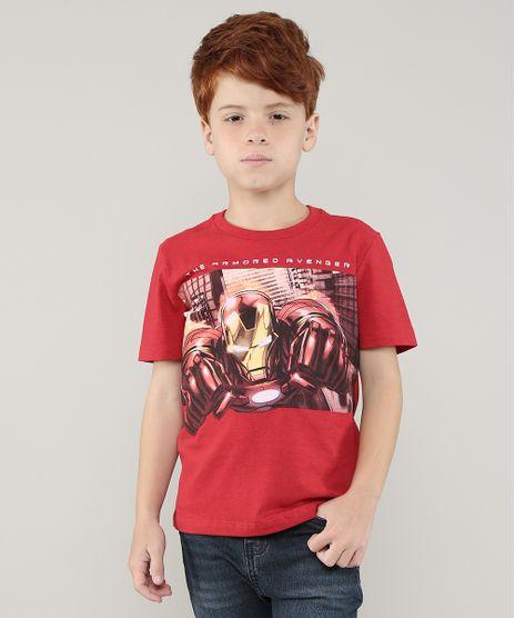 Camiseta-Infantil-Homem-de-Ferro-Manga-Curta-Vermelho-9729686-Vermelho_1