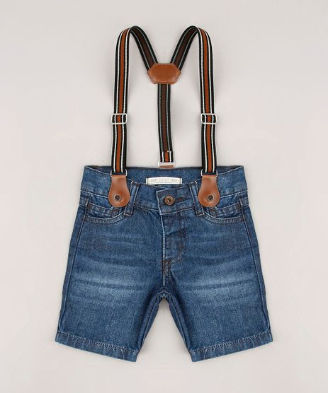 Bermuda-Jeans-Infantil-com-Suspensorio-Azul-Escuro-9684471-Azul_Escuro_1