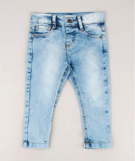 Calca-Jeans-Infantil-Skinny-com-Bolsos-Azul-Claro-9684476-Azul_Claro_1