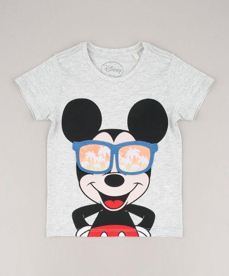 Camiseta-Infantil-Mickey-com-Estampa-Interativa-Manga-Curta-Cinza-Mescla-Claro-9672267-Cinza_Mescla_Claro_1