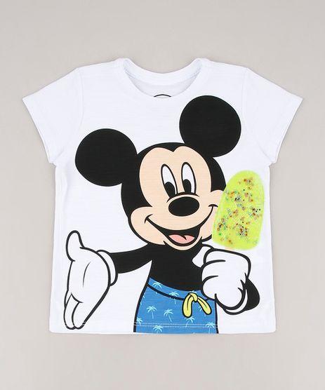 Camiseta-Infantil-Mickey-com-Sorvete-Manga-Curta-Branca-9673255-Branco_1