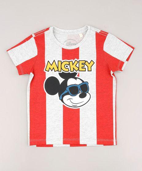 Camiseta-Infantil-Mickey-Listrada-Manga-Curta-Cinza-Mescla-Claro-9675954-Cinza_Mescla_Claro_1