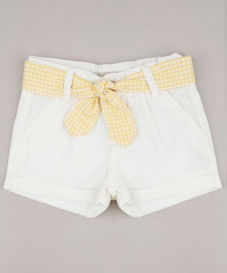 Short-de-Sarja-Infantil-com-Bolsos-e-Faixa-para-Amarrar-Off-White-9680748-Off_White_1