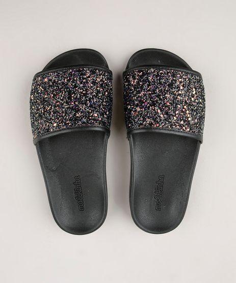 Chinelo-Slide-Infantil-Molekinha-com-Glitter-Preto-9709381-Preto_1