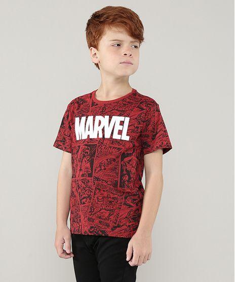 Camiseta-Infantil-Marvel-Estampada-Quadrinhos-Manga-Curta-Vermelha-9675697-Vermelho_1