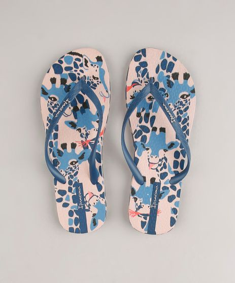 Chinelo-Feminino-Ipanema-Everyday-Estampado-de-Girafas-Bege-9690059-Bege_1
