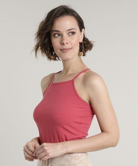 Regata-Feminina-Cropped-Halter-Neck-Canelada-Rosa-Escuro-9624702-Rosa_Escuro_1
