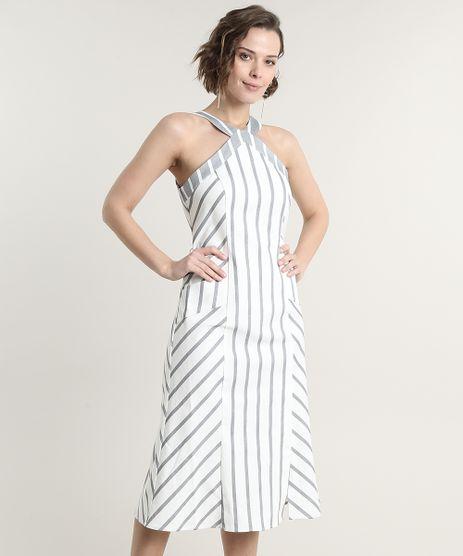 Vestido-Feminino-Midi-Halter-Neck-Listrado-com-Bolsos-e-Fenda-Branco-9638918-Branco_1