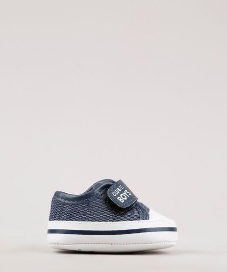 Tenis-Jeans-Infantil-Pimpolho-com-Velcro-Azul-Escuro-9766908-Azul_Escuro_1
