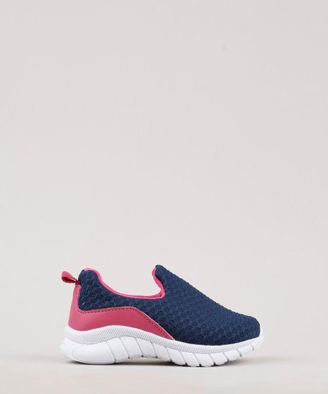 Tenis-Infantil-Esportivo-Running-com-Recortes-Azul-Marinho-9763409-Azul_Marinho_1