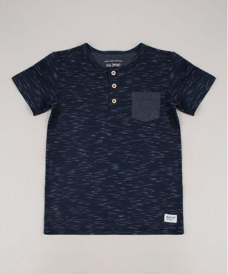 Camiseta-Infantil-com-Bolso-Manga-Curta-Gola-Portuguesa-Azul-Marinho-9665985-Azul_Marinho_1