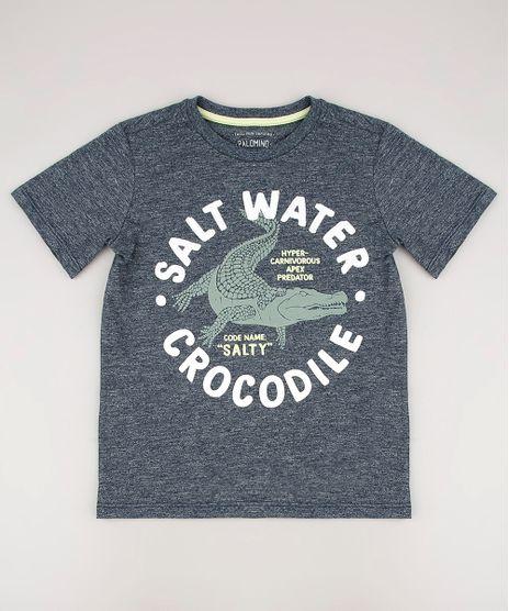 Camiseta-Infantil-Crocodilo-Manga-Curta-Cinza-Mescla-Escuro-9673090-Cinza_Mescla_Escuro_1