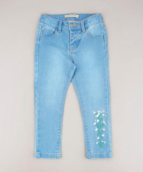 Calca-Jeans-Infantil-com-Bordado-Floral-Azul-Claro-9680809-Azul_Claro_1