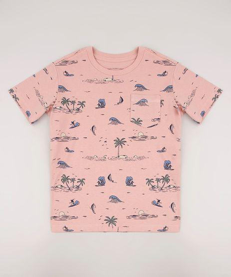 Camiseta-Infantil-Estampada-Surf-Manga-Curta-Rose-9672445-Rose_1