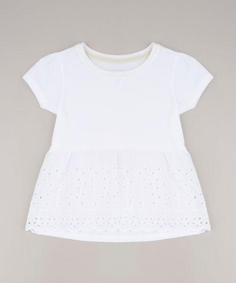 Blusa-Infantil-com-Laise-Manga-Curta-Off-White-9669322-Off_White_1