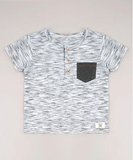 Camiseta-Infantil-com-Bolso-Manga-Curta-Gola-Portuguesa-Cinza-Mescla-9638476-Cinza_Mescla_1