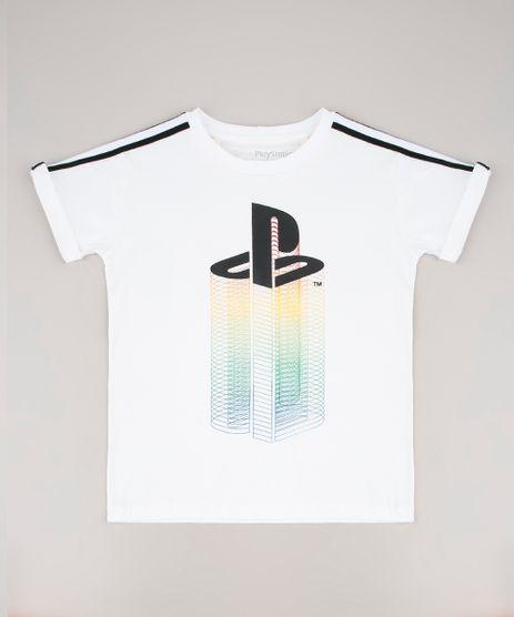 Camiseta-Infantil-PlayStation-Manga-Curta-Branca-9675935-Branco_1