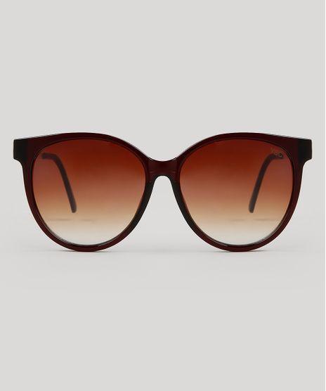 Oculos-de-Sol-Redondo-Feminino-Yessica-Marrom-9731149-Marrom_1